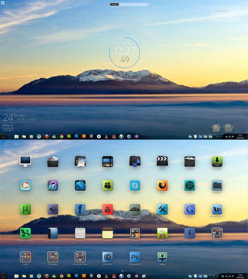 My Desktop by dreamh