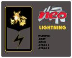Neo Redux Lightning Blank Pack