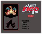 Neo Redux Fire Blank Black