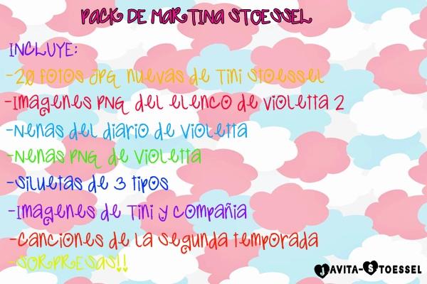 Pack De Martina Stoessel By Javita Stoessel by Javita-Stoessel