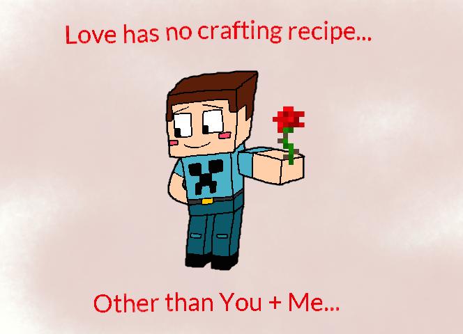 Minecraft Valentine by Montatora-501