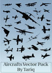 Aircrafts Vector Pack