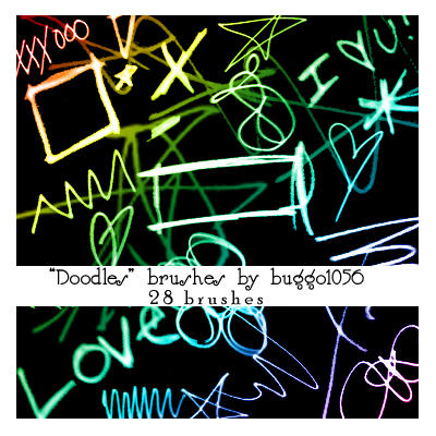 Doodle Brushes by buggo1056