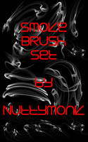 Smoke Abstract Brush Set by NuttyMonk