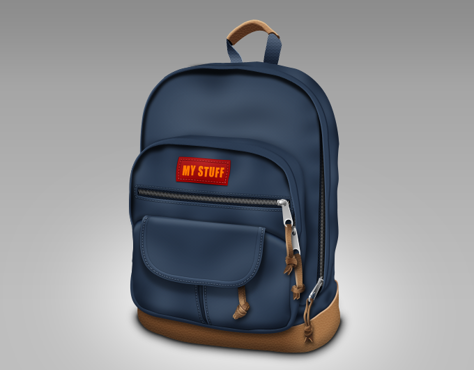 My stuff backpack icon
