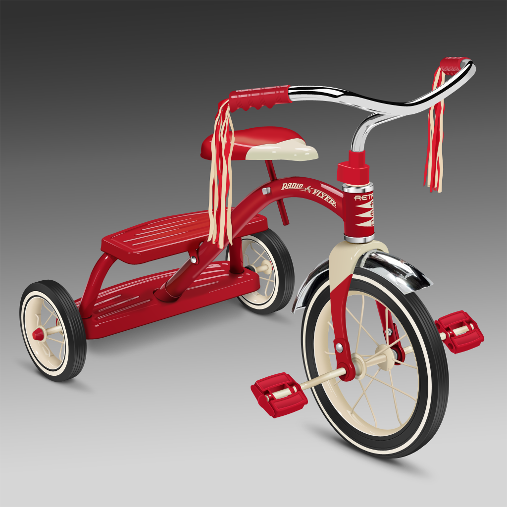 Radio Flyer Tricycle By Treetog On DeviantArt