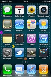 PacMan iPhone 4 Wallpaper