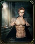 Robert Pattinson-Photomanipulation Gif by MyTwilightUniverse