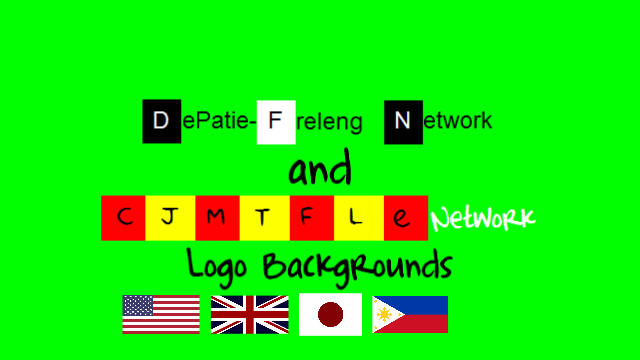 DFN And CJMTFLENetwork Logo Backgrounds by CJMasaNetwork2002