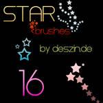 16 Star Brushes