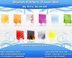 Stylish Folders 3 Icon Set