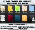 Stylish Folders 4 Icon Set