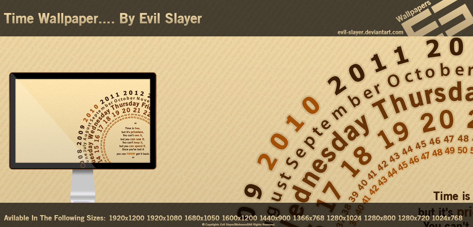 Time Wallpaper by Evil-Slayer