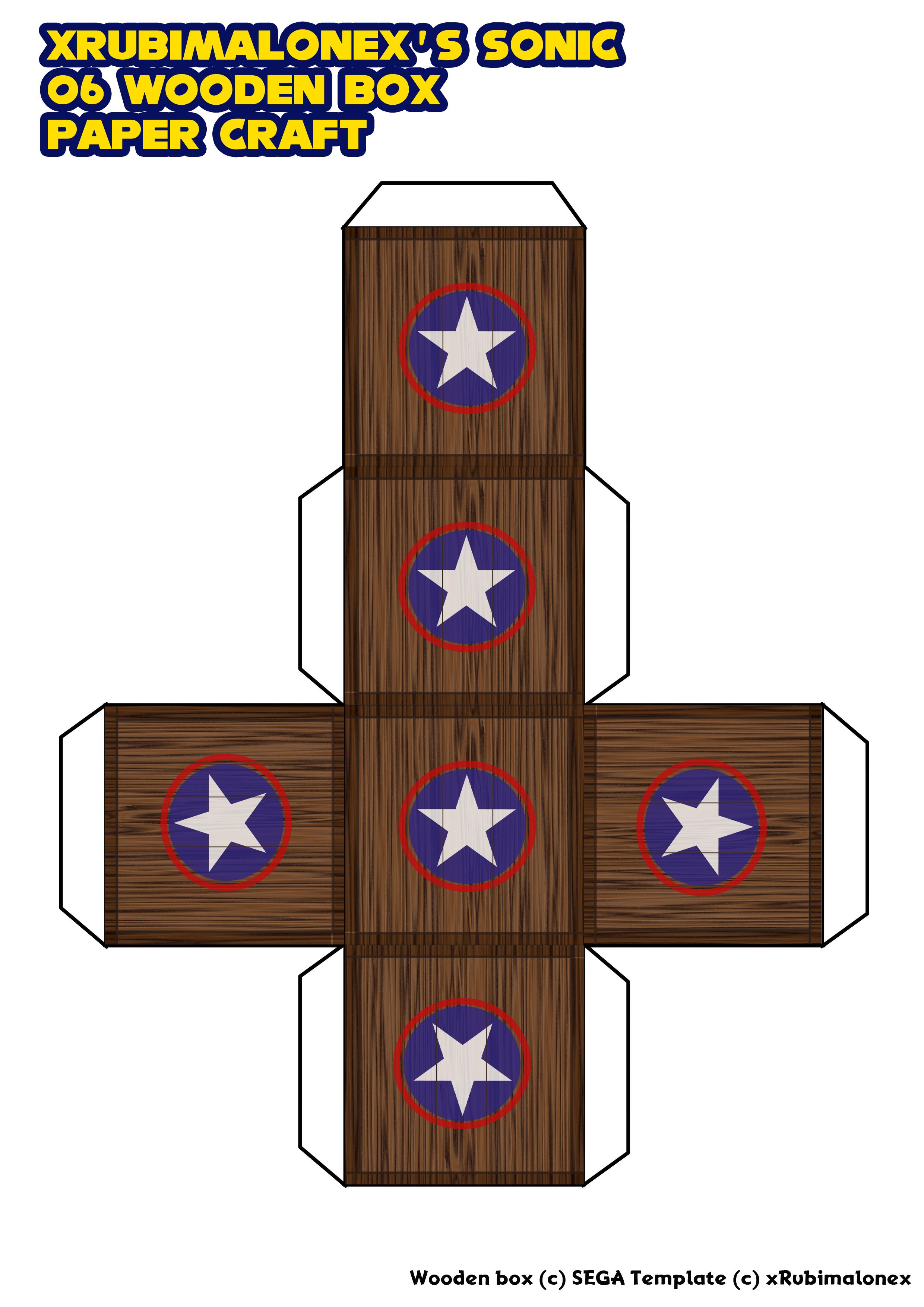 Wooden box paper craft by xrubimalonex on deviantart sonic wooden box paper craft by xrubimalonex jeuxipadfo Images