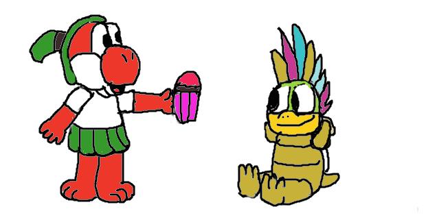 one lucky koopa kid! by Legobyte