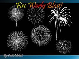 Fire works Blast Brushes by Daveshu88