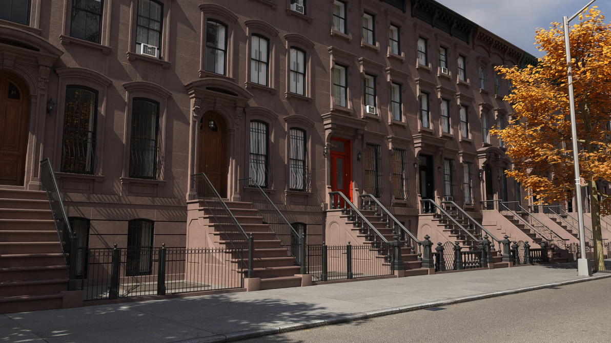 Updated Brownstone Iray Materials by ItiseyeMeeSzark