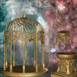 Golden Fairy Garden