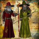 Hedge Mages by oldhippieart