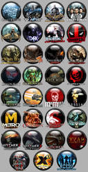 Various Game Icons