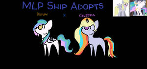 MLP Ship Adopts: DerpyxCelestia CLOSED OTA