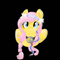 'Fluttershy Redraw' MotionPortrait by MadWhovianWithABox