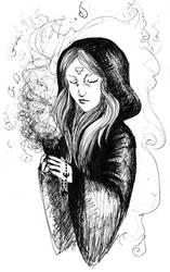 Samhain Sage by HerrMagermilch