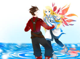 Tales of Symphonia by shinymudkips