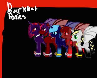 Bark Bat Ponies by GenerosityHeart
