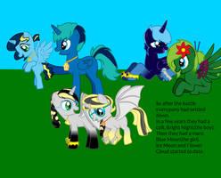 Dark Bat Ponies Story Final