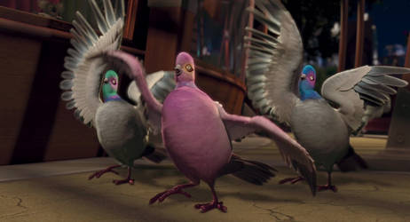 The Wild - Pigeon Girls by Jdueler11