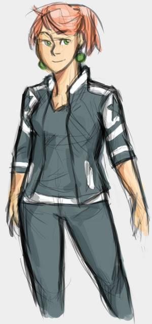 Annie sketch