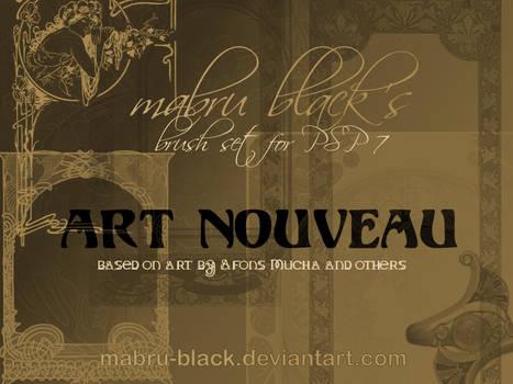 Art Nouveau by Mabru