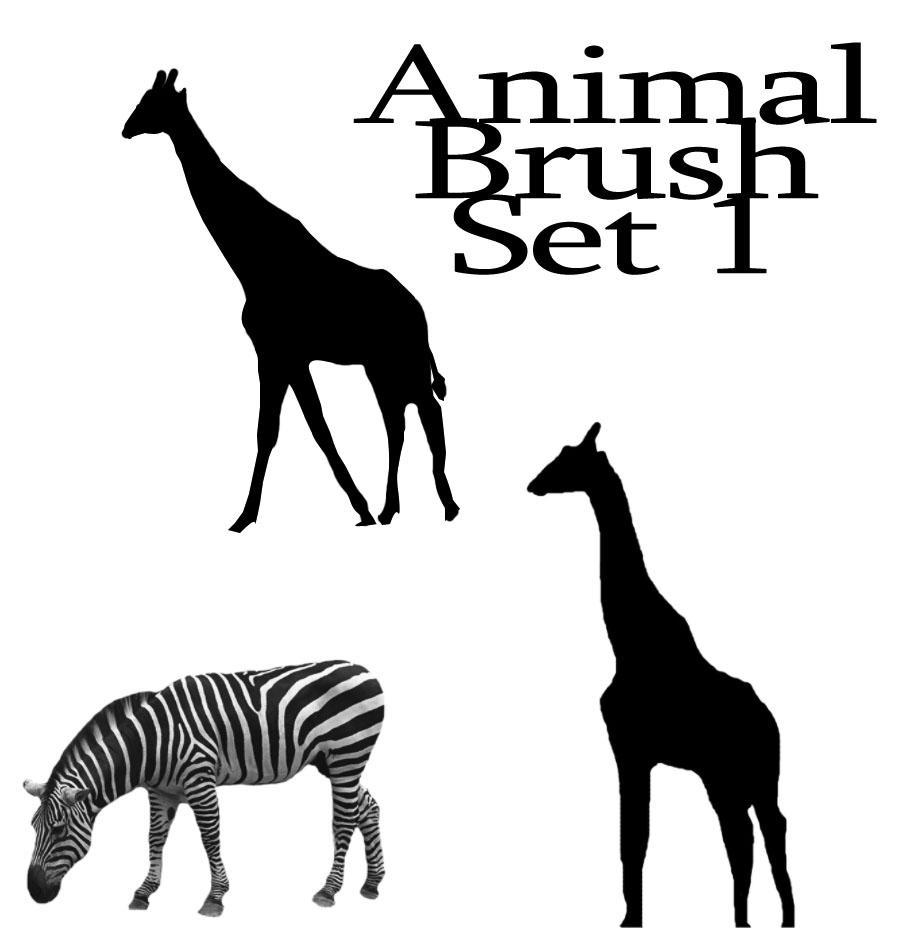 Animal Brush Set 1 by XxGRiMxX