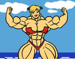 Beach flex animation