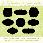 Free Tag Shape Templates