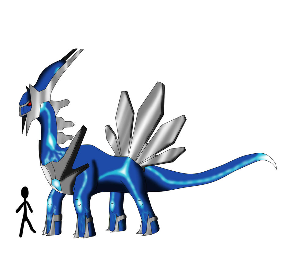 Dialga And Palkia Fusion Pokemon Field Guide Dialga