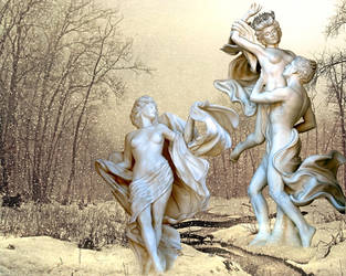 Dance of the Dryads by Isidora