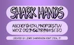 Shark Hands - Font by TSM-Draws