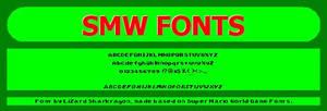 Super Mario World Fonts