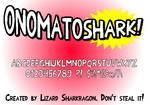 Font - OnomatoShark