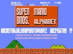 Super Mario Bros Alphabet