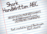 Font - Shark HandWritten ABC