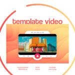 TEMPLATE VIDEO GIF N001 by rareddeer