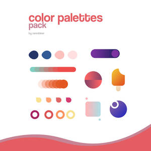 COLOR PALETTES PACK by rared deer