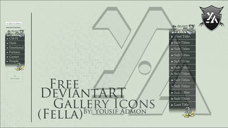 Free DeviantART Gallery Icons (Fella) by Th3EmOo