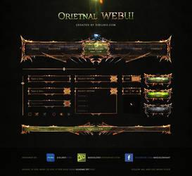 Oriental WEBUI - Free PSD by MrZielsko