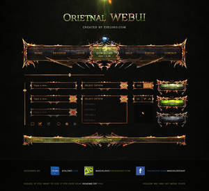 Oriental WEBUI - Free PSD