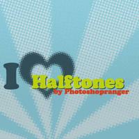 I heart halftones by photoshopranger