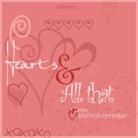 Hearts-brush pack by photoshopranger